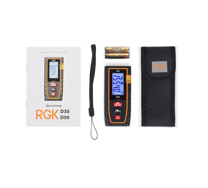 Лазерный дальномер RGK D50