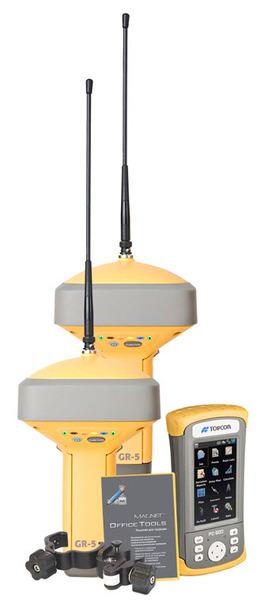 Комплект приемников Topcon GR-5 с полевым контроллером FC-500